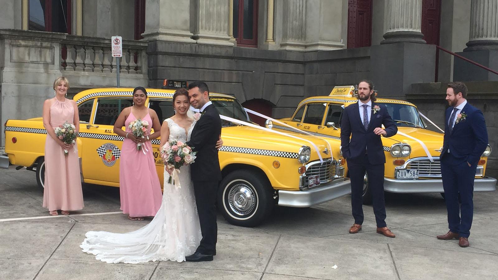 Checker-Cab-Weddings-Bridal-Car