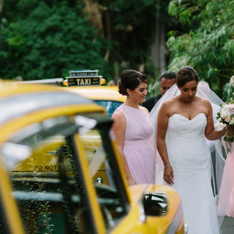 Checker Cab Weddings